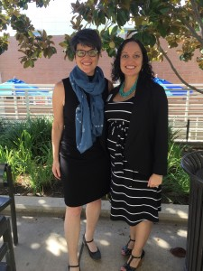 At UC Riverside Academic Career Development Day (with Director Maggie Gover)